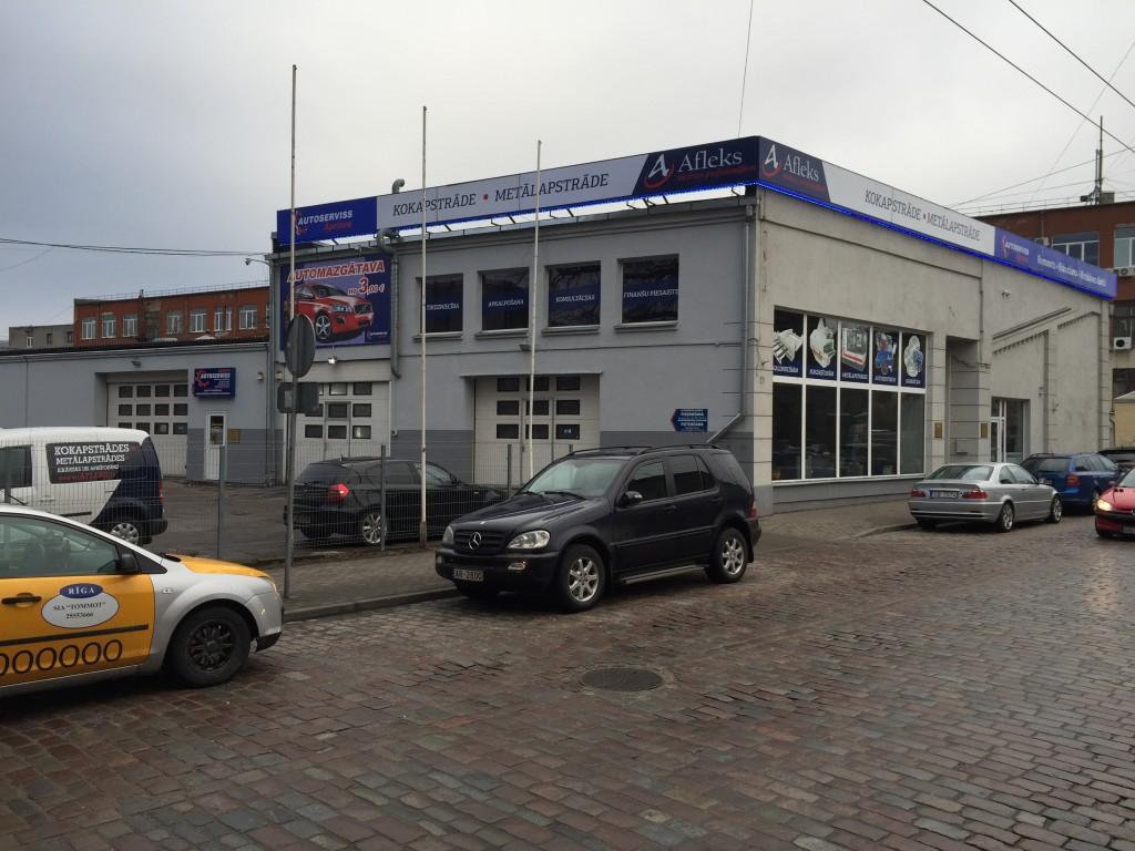 Autoserviss Rīga, Kurbada 4