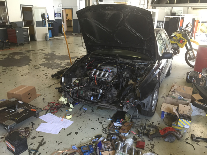 Pемонт двигатель